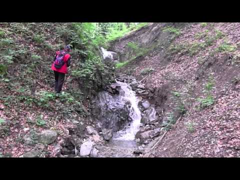 Vodopad i slap na Rakovačkom potoku
