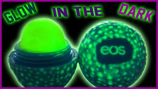 getlinkyoutube.com-DIY Glow In The Dark EOS Lip Balm! | Easy & Non-Toxic! | Perfect For Parties!