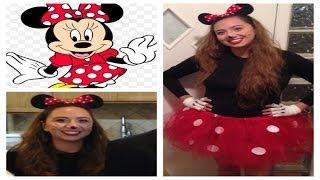getlinkyoutube.com-Easy Last Minute Minne Mouse Costume! DIY❤