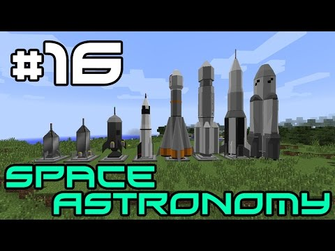 Minecraft Space Astronomy - Alternate Dimensions! #16
