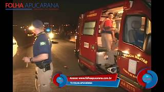 getlinkyoutube.com-Trágedia: Carro Mata Pai Após Salvar seu Filho - Tv Folha Apucarana