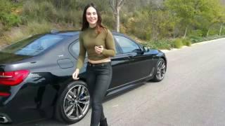 "getlinkyoutube.com-2017 BMW M760i Exhaust Sound / Remote Parking / 20"" M Wheels / BMW Review"