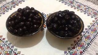 getlinkyoutube.com-طريقة تصبير الزيتون الاسود و الاحتفاض به في المجمد بطريقتين مختلفتين Olive Noir en Conserve