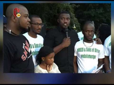JOHN DUMELO WORKS WITH SIERRA LEONE TO FIGHT EBOLA