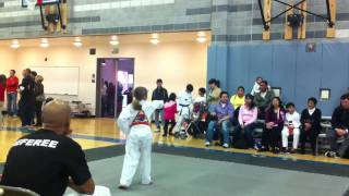 getlinkyoutube.com-Sacramento TKD Tournament - Orange Belt Form.MOV
