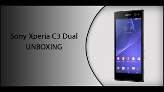 getlinkyoutube.com-Sony Xperia C3 Dual UNBOXING