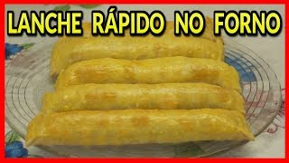 getlinkyoutube.com-LANCHE RÁPIDO NO FORNO