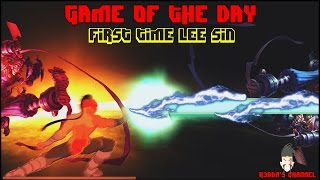 getlinkyoutube.com-Game of the day : First time Lee Sin
