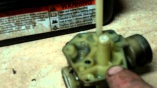 getlinkyoutube.com-LAWN MOWER REPAIR     how to rebuild the carb on a 3.5 hp briggs and stratton pulsa jet carburetor