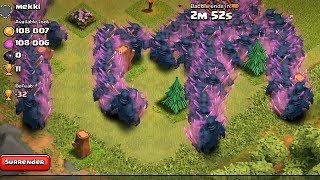 getlinkyoutube.com-Clash of clans - PEKKA RAID 300 level 5 (Mass gameplay)