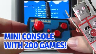 getlinkyoutube.com-MINIATURE RETRO TV CONSOLE WITH 200 GAMES! Really works!