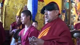 Tingri Shelkar lama dance part 1
