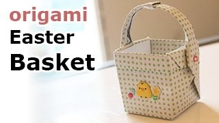 getlinkyoutube.com-Origami Easter Basket