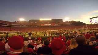 getlinkyoutube.com-UGA Redcoat Band 2015 Show 1 vs South Carolina