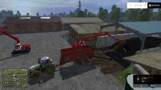 getlinkyoutube.com-Farm Sim Saturday Playing with wacky mods