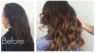 getlinkyoutube.com-Natural Ombre with minimal damage to hair || Thefauxtheory
