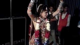 getlinkyoutube.com-Best bride Bhangra dance of all time | punjabi wedding dance