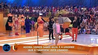 Legendários Prova da Lingerie 06-04-2013 (REDE RECORD)