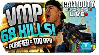 """VMP"" Submachine Gun + ""PURIFIER"" Specialist = OVERPOWERED!! - Black Ops 3 ★ (BO3: VMP Gameplay)"