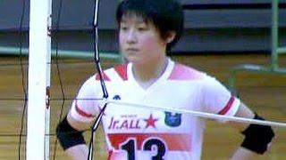 getlinkyoutube.com-春高バレー女子オールスター スパイク練習!黒後愛・石川真佑・宮部愛梨Volleyball Spike Girls Japan