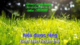 Karaoke -Tình dại khờ (829431)