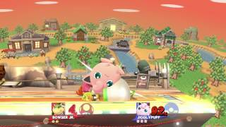 Sm4sh Smooth Gravity: Bowser Jr. (OGBJ) vs. Jiggs (Zadd)
