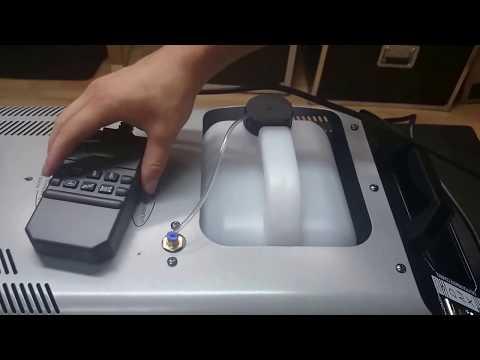 Test & Check - Stairville SF-1500 Fog Machine (HD)
