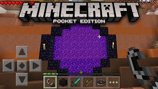 getlinkyoutube.com-EPIC NETHER PORTALS IN MCPE! - Minecraft PE Confirmed Features (Pocket Edition)
