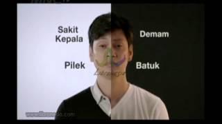 Iklan Saridon - White & Black  kombinasi-pas-obati-flu-batuk