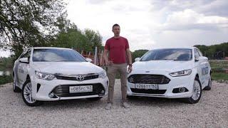 getlinkyoutube.com-Ford Mondeo 2015 против Toyota Camry 2015. Игорь Бурцев