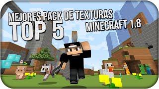 getlinkyoutube.com-TOP 5 LOS MEJORES PACK DE TEXTURAS PARA MINECRAFT 1.8