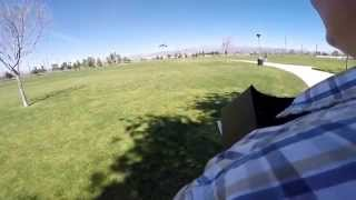 DJI Inspire One and Yuneec Q500 Side by Side in high winds holding GPS Lock