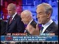 Ron Paul Gets Home Run on CFR-NAU Question