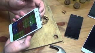 getlinkyoutube.com-Колю орехи телефоном UMI Hammer и гну его