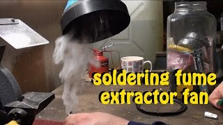 getlinkyoutube.com-How to build a DIY soldering fume and smoke extractor fan