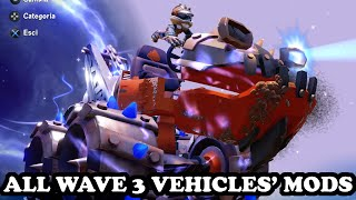 getlinkyoutube.com-Skylanders Superchargers - All Wave 3 Vehicles Mods GAMEPLAY