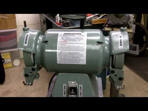 Part 1-5 Harbor Freight Carbide Tool Grinder Review and Modifications