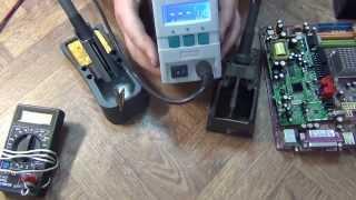 getlinkyoutube.com-Мои впечатления от паяльной станции quick 202d -- Обзор и тест.