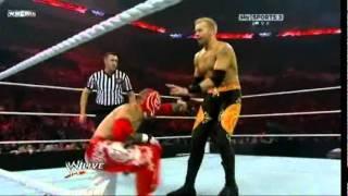 getlinkyoutube.com-Rey Mysterio vs Christian  (Monday Night Raw 13-6-2011  HD 1080P)