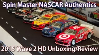 getlinkyoutube.com-2015 Spin Master NASCAR Authentics: Wave 2 HD Unboxing and Review