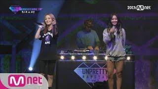getlinkyoutube.com-[Korean Reality Show UNPRETTY RAPSTAR2] 1:1 Battle Hyolin vs Kasper l Kpop Rap Audition  EP.03