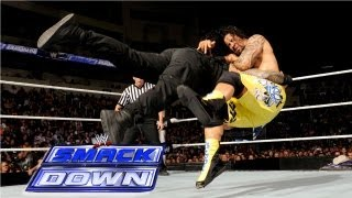 getlinkyoutube.com-The Usos vs. Seth Rollins & Roman Reigns: SmackDown, May 17, 2013