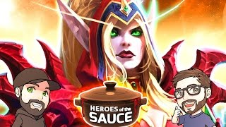getlinkyoutube.com-Heroes of the Sauce | Mike & Dave of LiquorSauce | Heroes of the Storm Unranked Draft Gameplay