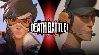 getlinkyoutube.com-Tracer VS Scout | DEATH BATTLE! (Overwatch VS Team Fortress 2)
