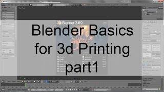 getlinkyoutube.com-Blender Basics for 3d printing part1