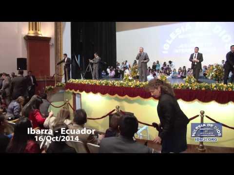 Visita de la hermana María Luisa Piraquive a Ibarra - Ecuador