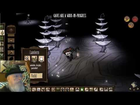 Let's Play Don't Starve 492 Cave Mandrake Problem & Spider Hat 2