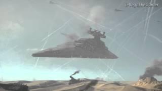 getlinkyoutube.com-MORE SHIPS ON THE SMALL MAPS!? Star Destroyer taken down in Jakku
