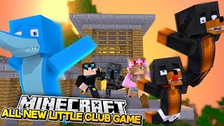 getlinkyoutube.com-THE OFFICIAL LITTLE CLUB GAME w/ donut the dog and Baby Max - Minecraft