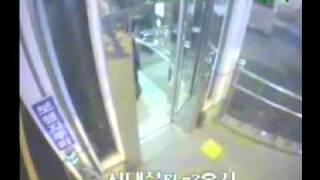 getlinkyoutube.com-Man Rams Elevator, Falls To His Death